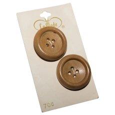La Mode Wooden Buttons Portugal
