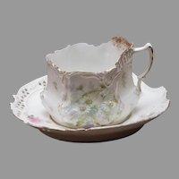 German Filigree Tea Cup and Saucer