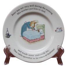 Wedgwood Peter Rabbit Plate