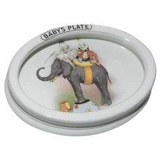 Circus Nursery Ware - Baby's Plate
