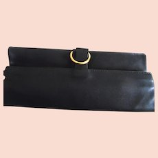 Vintage 1960's Mark Cross Leather Travel Bag/Pouch
