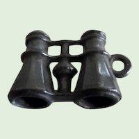 Victorian Miniature Black Metal Field Glasses