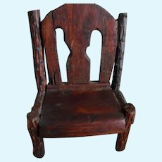 Antique Dolly  Arts & Crafts Adirondack Chair