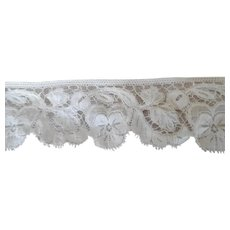 Pretty Pansy Vintage Lace For Doll Clothes