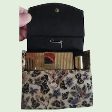 Vintage Coty Compact Lipstick Set In Case