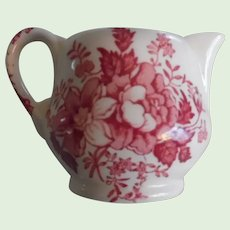 Darling Miniature or Individual Creamer by Clarice Cliff Tonquin Pattern