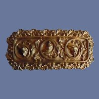 Antique Victorian 10K Gold Plated Pin