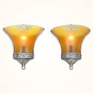 Pair of American Art Deco Sconces ANT-1021
