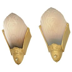 Antique Restored Virden Wall Sconces ANT-1075
