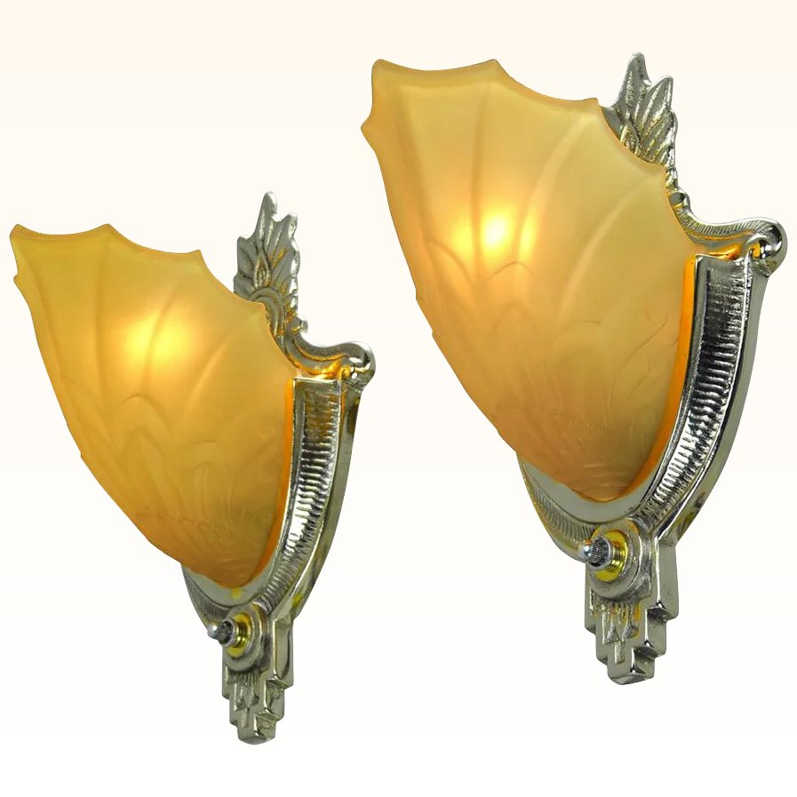 Famous Art Deco Wall Sconce Contemporary - The Wall Art Decorations ...