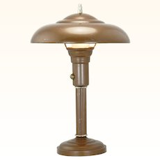 Streamline Deco table lamp.... Circa 1920-30 ANT-990