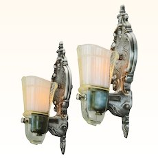 Pair of American Art Deco Style Sconces ANT-991