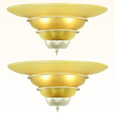 Art Deco Style PAIR of Nice Quality Sconces ANT-992