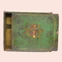 Early Paint Decorated Child's School Box of Virginia Origin