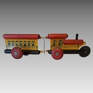 Vintage Toy Tinkers Choo-Choo Tinker Railway Child's Pull Toy