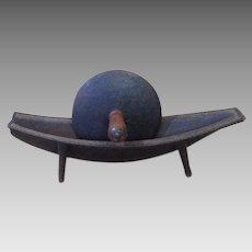 19th Century Pennsylvania Cast Iron Herb Grinder