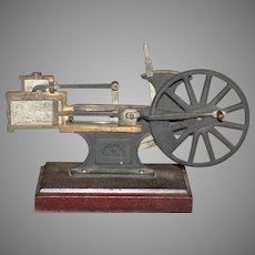 L E Knott Apparatus Co. Steam Piston Cut Away Demonstrator Model