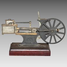 L E Knott Apparatus Co. Steam Piston Cut Away Demonstrator Model