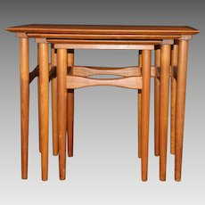 Mid-Century Modern Danish Nesting Tables