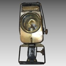 Antique G & J Mfg. Co. Rambler No. 2 Bicycle Oil Headlamp