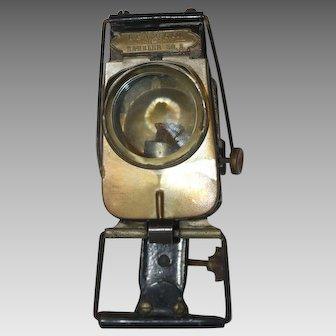 Antique G & J Mfg. Co. Rambler No. 2 Bicycle Oil Headlamp