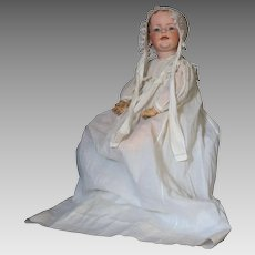 "Kley and Hahn 22"" German Bisque Character Toddler, Mold 548  with Painted Hair circa 1912"