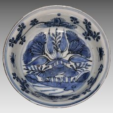 Late Wanli Period Ca 1620's Chinese Export Ko-Sometsuke Style Bowl