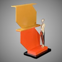 Ernest Trova Limited Edition Abstract Variation Manscape Sculpture