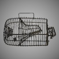 Late 19th Century Marty Wire Cage Live Mousetrap