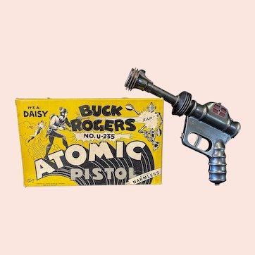 Buck Rogers U-235 Atomic Pistol with Original Illustrated Box