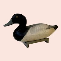 Vintage Duck Decoy Carved and Painted by R. Madison Mitchell