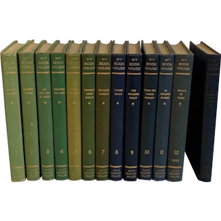 Twelve Volume Set of My Book House Books w\ Additional Parents Volume