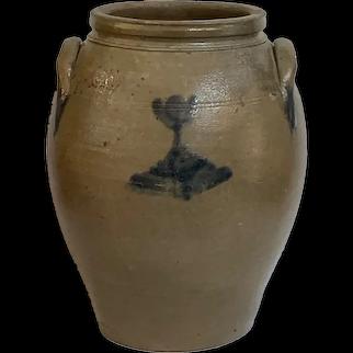 Large Antique Pennsylvania Stoneware Crock