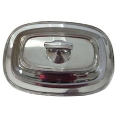 Silver Plated Covered vegetable dish