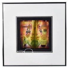 Paul Anderson Favari Illusory LED Light Sculpture Artist's Proof