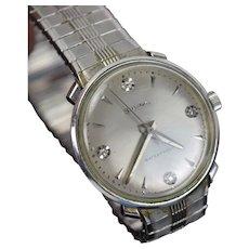 Vintage 1965 10kt Gold Fill Bulova Beau Brummel Men's Wrist Watch
