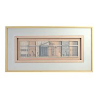 """Harris Strong """"Arcade"""" Classical Architecture Dimensional Assemblage Wall Sculpture"""