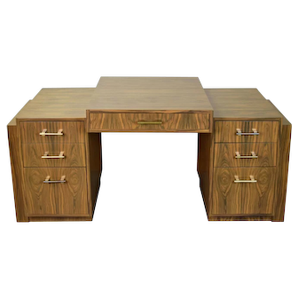 Art Deco Style Interior Crafts Chicago Rosewood Partners Desk