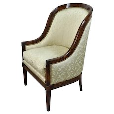 William Switzer Classic Austrian Biedermeier Occasional Chair