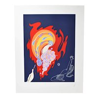 "Erté  Erte ""Oriental Tales"" Art Deco Serigraph Signed Numbered"