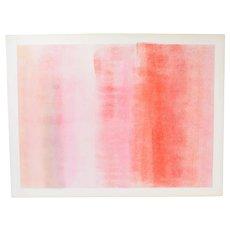 1975 Robert Natkin Abstract Expressionist L/E Lithograph Sgnd 2