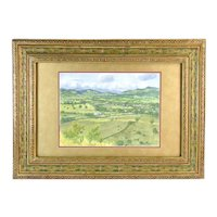 Stephen Smalzel Southwest American Valley Landscape Painting Colorado Artist