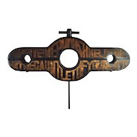 """1960's Harry Bouras Sculpture """"Forgive! Me Punish Me Let Me Run the Gauntlet of Your Love"""""""