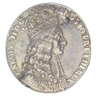 Charles II Official Silver Royal Coronation Medal 1661