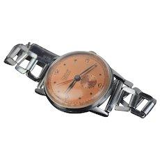 Vintage Art Deco Style Charles Nicolet Tramelan Men's Wrist Watch