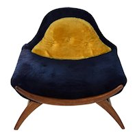 Vintage Mid-Century Modern Adrian Pearsall Gondola Lounge Chair
