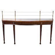 Mahogany Wallace Nutting Collection Drexel Federal Sideboard Hall Console Table