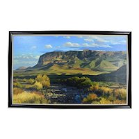 David Caton #2 Pulliam Bluff Big Bend Chisos Mountains Texas Hill Country Artist