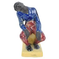 1949 Helene Biddle Sardeau Ceramic Sculpture Figure of African American Man