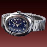 Vintage Automatic Movado Zenith Tempo-Matic HS288 Men's Wristwatch Swiss